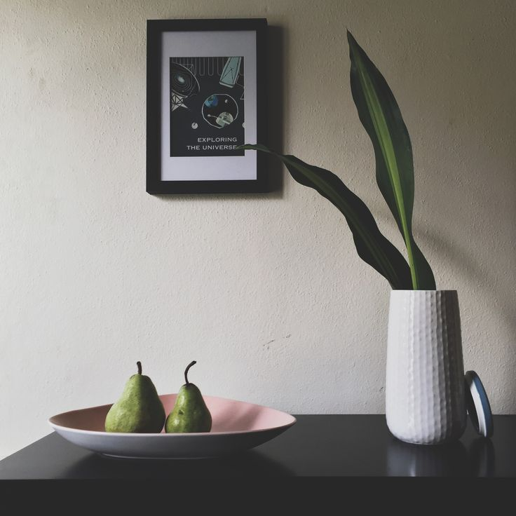 Moody hallway, adorned with the HemingwayDesign for Royal Doulton collection medium storage jar and nesting bowl