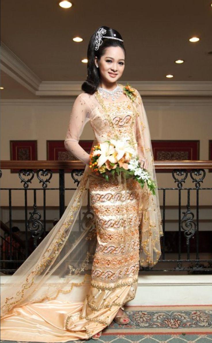 Burmese traditional costume