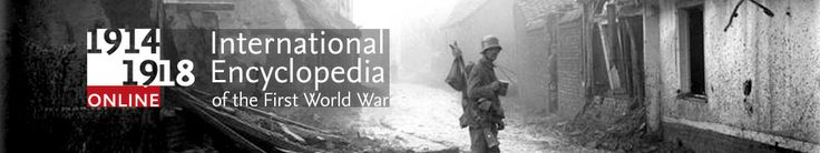 1914 - 1918 online - an international encyclopedia of the First World War. Launch date is 8 October 2014.