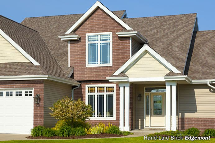 17 best ideas about brick siding on pinterest outdoor for What is 1 square of vinyl siding