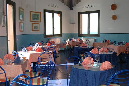 I tavoli del ristorante - Restaurant room