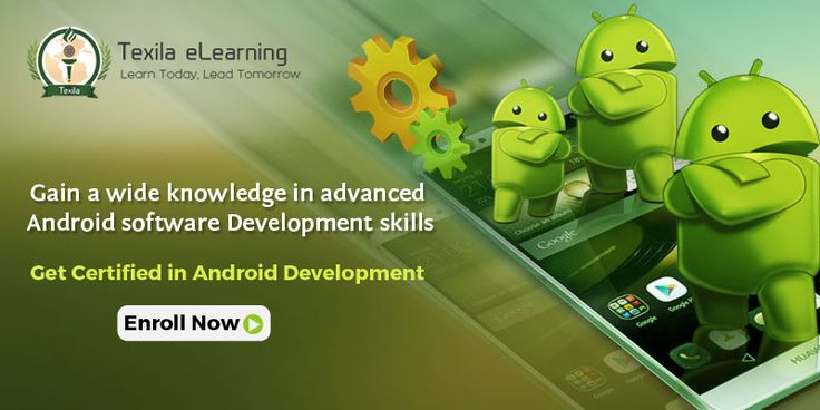 Learn World class Android Development Course at affordable price. Grab the opportunity only limited seats available Enroll Now. http://www.texilaedu.org/product/certification-android-development/