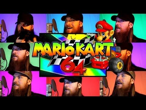 Smooth Mcgroove is beyond awesome on the video game acapella's he does. Check this Mario Kart 64 rainbow race track cover!