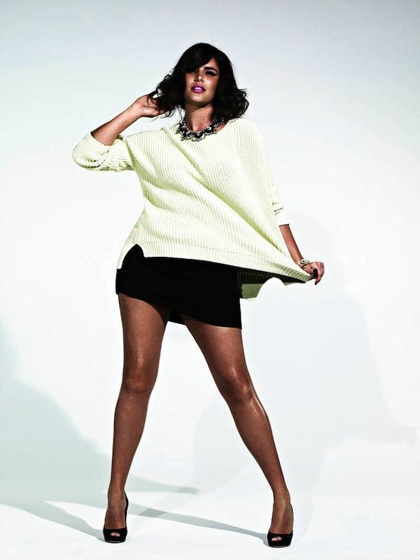 La mannequin grande taille Candice Huffine photographiée par Damon Baker pour S Moda. Découvrez plus de photos ici http://www.ma-grande-taille.com/candice-huffine-mannequin-grande-taille-en-couverture-du-magazine-de-mode-s-moda-55456 #plussizemodel #Huffine