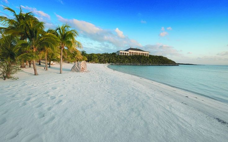 Always dreamt of owning your own tropical island? Buy this sunshine-drenched getaway in the Bahamas, and you'll also gain five properties, a helipad, tennis courts and your very own seaplane.