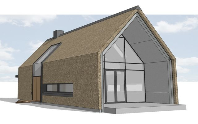 Woning te Epse met rieten kap opgebouwd uit schoonbeton prefab elementen. Dingemans Architectuur | horeca - bedrijfsrestaurants - Den Bosch - Brabant - recreatie - restauratie - renovatie - wonen - werken - vakantiewoningenDingemans Architectuur | horeca – bedrijfsrestaurants – Den Bosch – Brabant – recreatie – restauratie – renovatie – wonen – werken – vakantiewoningen