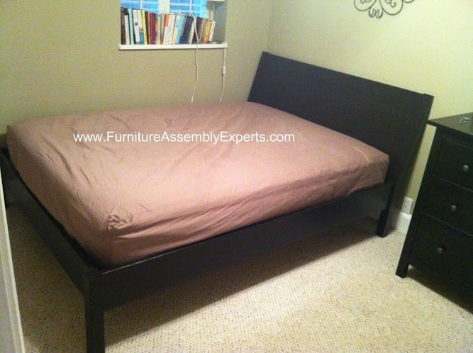Ikea Nyvoll Bed Assembled In Baltimore Md By Furniture Assembly Experts Llc
