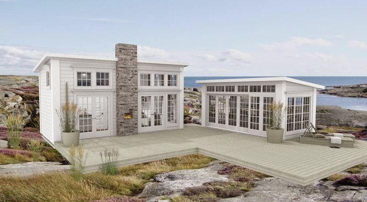 Dreams & Coffees arkitekt- och projektblogg: Modernt Attefallshus i New Englandstil?