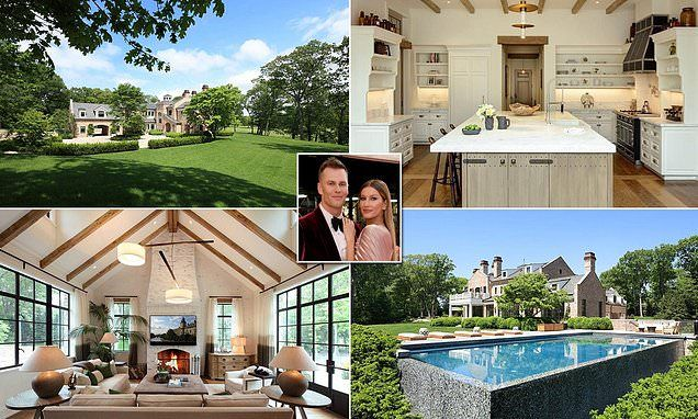 Tom Brady And Gisele Put Their Boston Home Up For Sale For 40