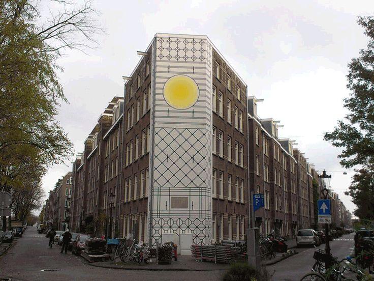 2013-Muurschildering-Aam Solleveld-Kostverlorenkade-Amsterdam | Van Iwaarden Artwork - Meesters in visuele communicatie