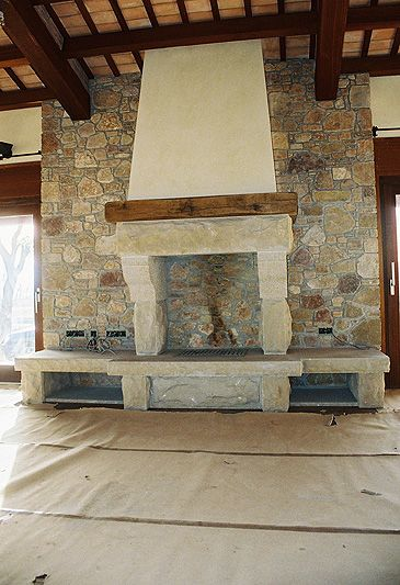 10 best images about chimeneas de obra on pinterest for Chimeneas de obra
