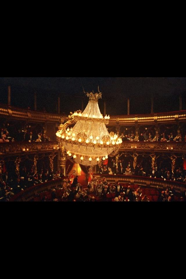 Phantom Of The Opera Love Chandelier