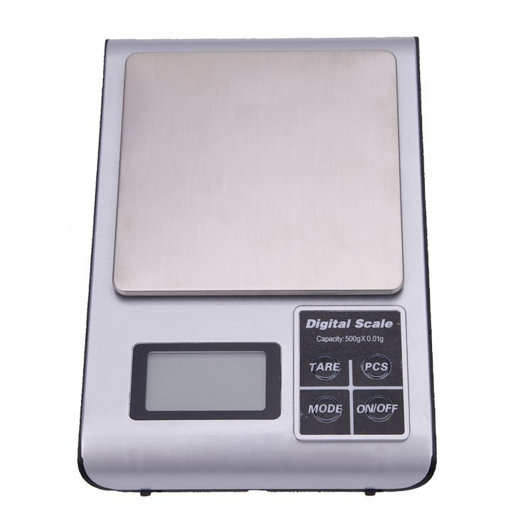 500g x 0.01g Digital Pocket Scale Jewelry Scale Weight Balance Tool Electronic Stainless Steel Device Digital Precision Scales   #Affiliate