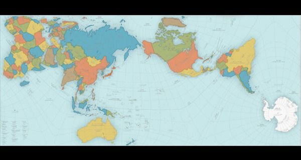 More Accurate World Map Wins Prestigious Design Award - http://all-that-is-interesting.com/authagraph-world-map?utm_source=Pinterest&utm_medium=social&utm_campaign=twitter_snap