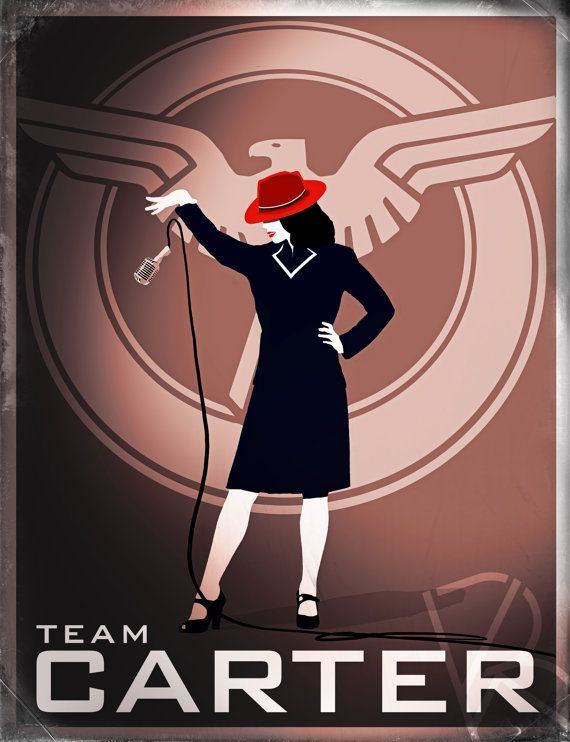 AGENT CARTER dubsmash inspired poster TeamCARTER by BrandiKenney