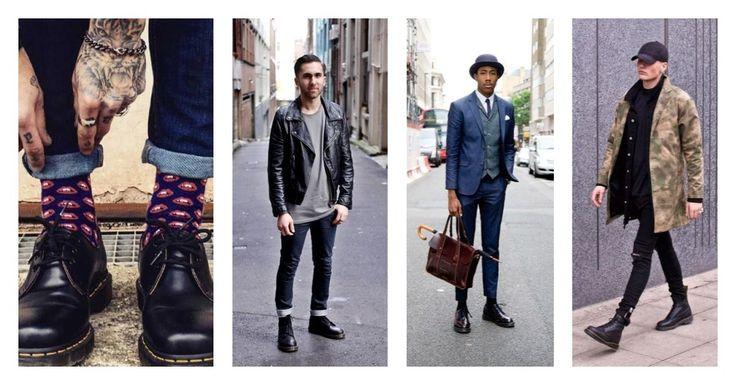 Τα Dr Martens αποτελούν σύμβολο της προσωπικής έκφρασης και επανάστασης! Συνδύασέ τα, ανάλογα με την περίσταση: 👉 Με παντελόνι cropped ή γυρισμένο ρεβέρ και κάλτσες με σχέδιο 👉 Με δερμάτινο jacket 👉 Με κοστούμι 👉 Με cargo jacket