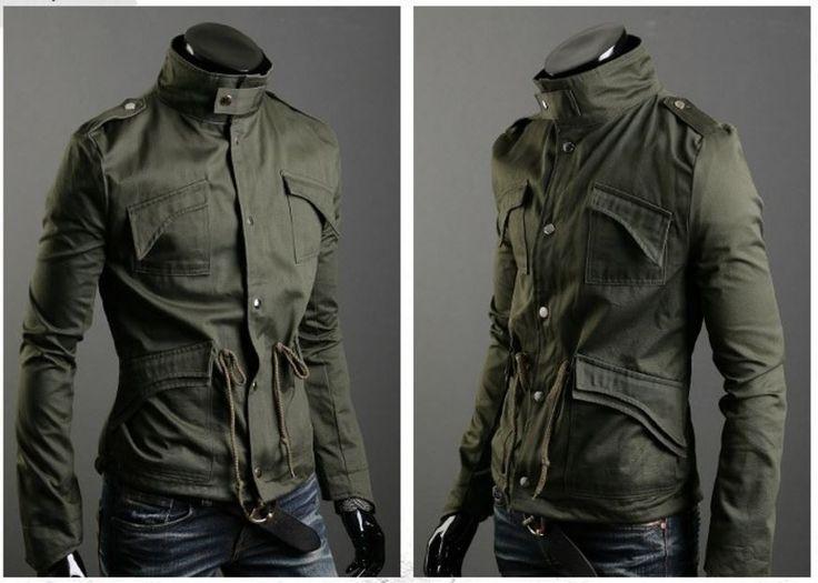 Stylový pánský vypasovaný kabát s límcem army zelený – Velikost L Na tento produkt se vztahuje nejen zajímavá sleva, ale také poštovné zdarma! Využij této výhodné nabídky a ušetři na poštovném, stejně jako to udělalo …