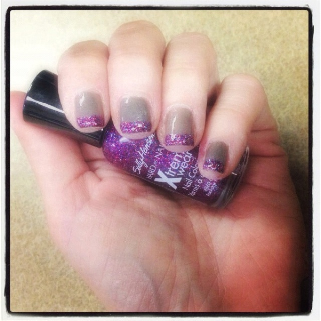 Purple Taupe Nail Polish: 15 Best Disney Nails Images On Pinterest