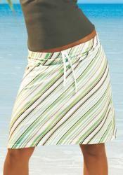 Выкройка пляжная юбка