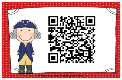 FREE President's Day QR code/writing activities! Soaring Through Second Grade