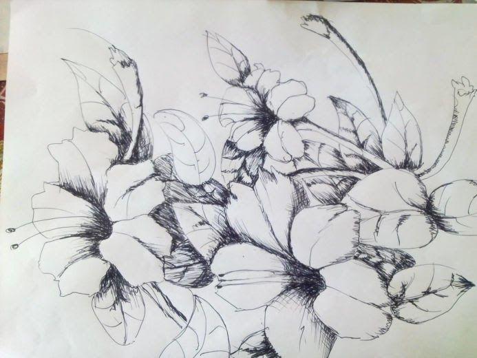 24 Lukisan Pemandangan Pakai Pensil 20 Gambar Sketsa Kumpulan Gambar Sketsa Bunga Download 90 Lukisan Dan Gambar Pe Gambar Bunga Sketsa Menggambar Sketsa