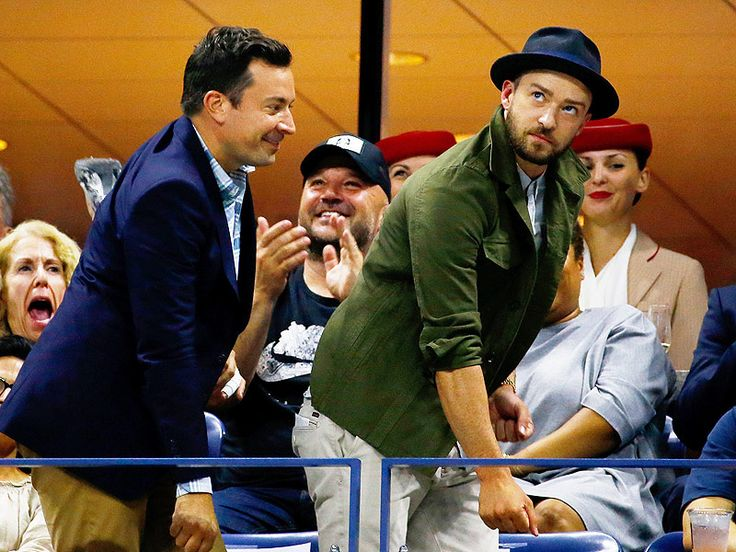 Justin Timberlake and Jimmy Fallon Do Beyoncé's 'Single Ladies' at the U.S. Open http://www.people.com/article/justin-timberlake-jimmy-fallon-beyonce-single-ladies-dance-us-open-tennis