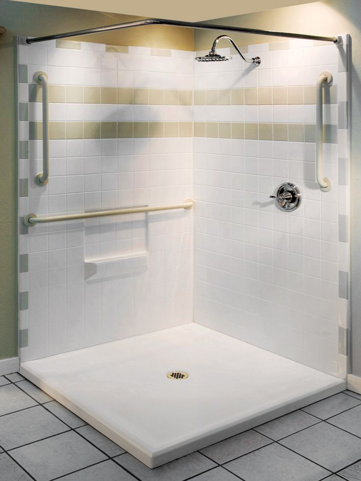 92 best showers for the disabled images on pinterest for Pictures of handicap bathrooms