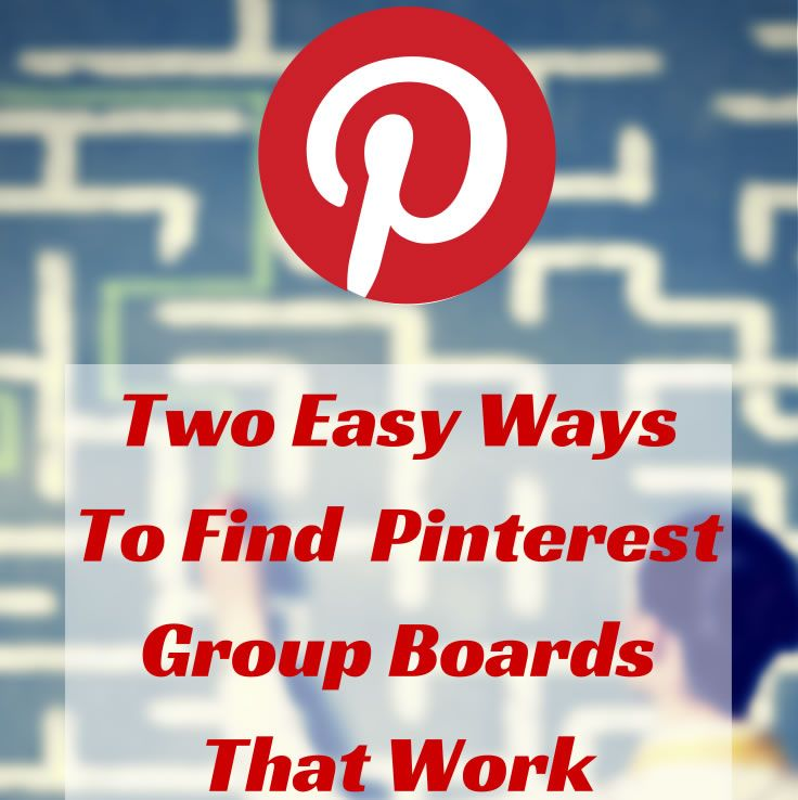 Participating in and hosting your own #Pinterest group boards is one of the fastest ways to increase your exposure. Here are two tools to find the best ones!