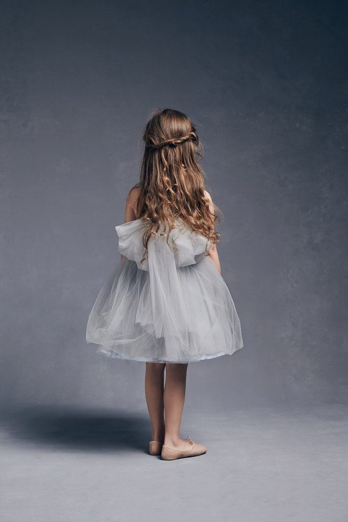 Nellystella LOVE Peach Dress in Artic Ice
