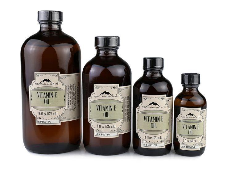 Mountain Rose Herbs: Vitamin E Oil