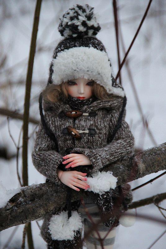 Gwendolyn in snow