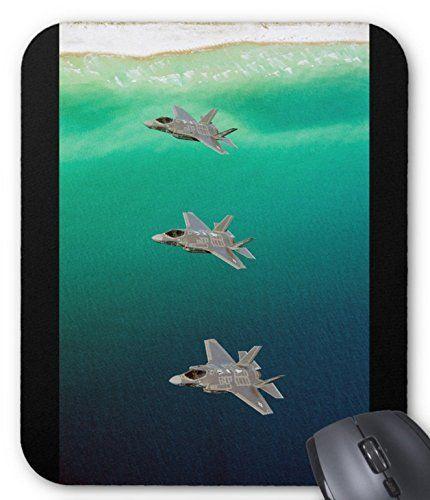ステルス戦闘機 F-35 のマウスパッド:フォトパッド(世界の戦闘機シリーズ) (E)