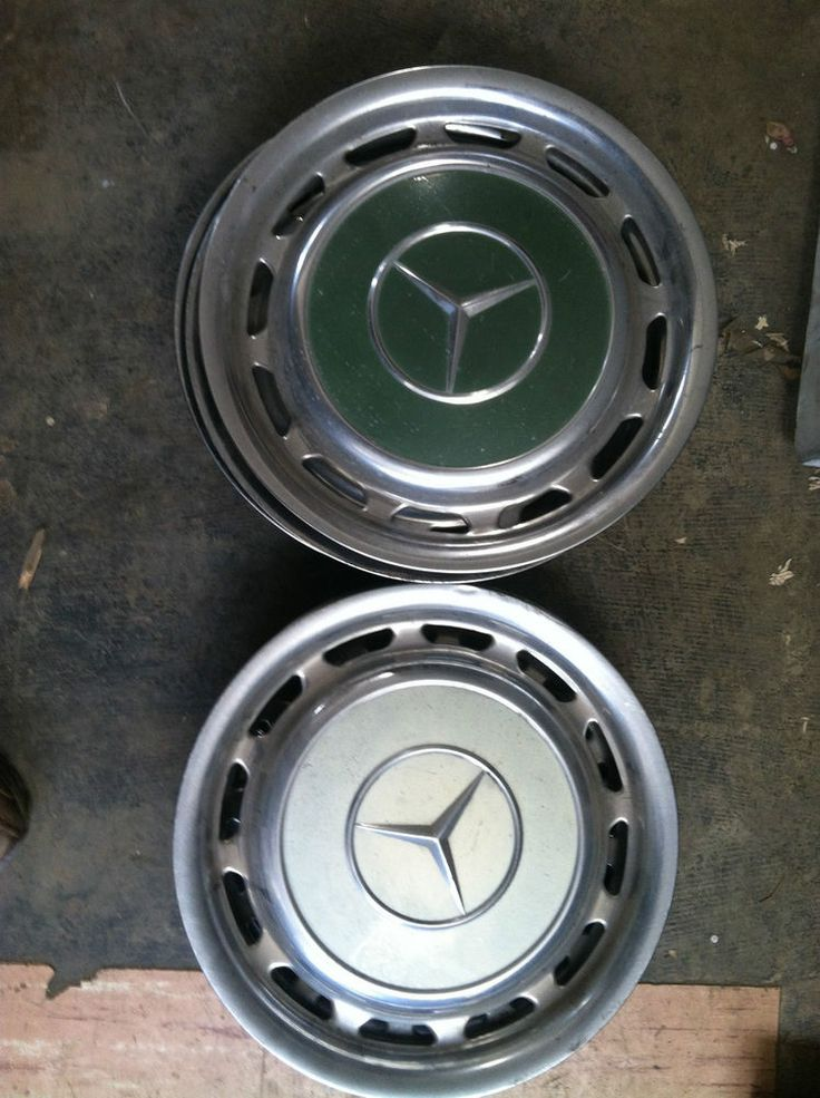 Vintage mercedes benz 14 hub cap oem car hubcaps for Mercedes benz hubcaps