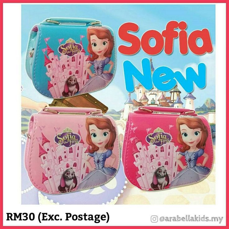 Sofia New . Rm30 Exclude Postage Postage fee : Rm7 (sm) . DETAILS Colour : Pink, Blue & Red Size : 13cm x 6cm x 16cm Applicable to : Children Gender : Female  #slingbag #kidsslingbag #kidsslingbags #kidsbag #kidsbagmurah #kidsbagmalaysia #sofiaslingbag #sofiamermaidslingbag #handbagbudak #handbagbudakmurah #handbagbudakmalaysia #kidshandbagmurah #kidshandbagmalaysia #kidslingbagmurah #sofia #princesssofia #princess #princessslingbag #kitty #hellokitty #hellokittybag #hellokittyslingbag…