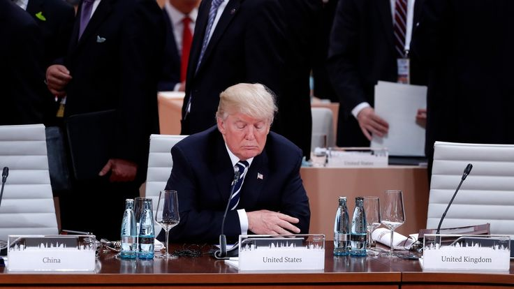 Katie Simpson   It may be easy to describe the new U.S. president as unpredictable, and certainlyas unco-operative in some global affairs, but during his lengthy time in the public eye, he has demonstrated two consistent qualities: Donald Trump does things his own way and doesn't like... - #Among, #Division, #G19, #G20, #Leaders, #News