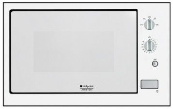 Micro-Ondes - Four Traditionnel (convection naturelle) *** : Hotpoint Ariston MKW 211 W HA . H 37 cm 263 euros