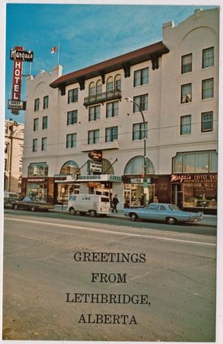 '60s View Marquis Hotel Coffee Shop Lethbridge AB Alberta | eBay