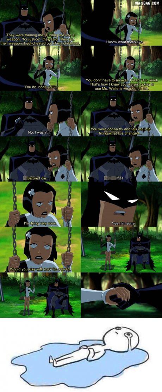 Batman The Feelings Knight