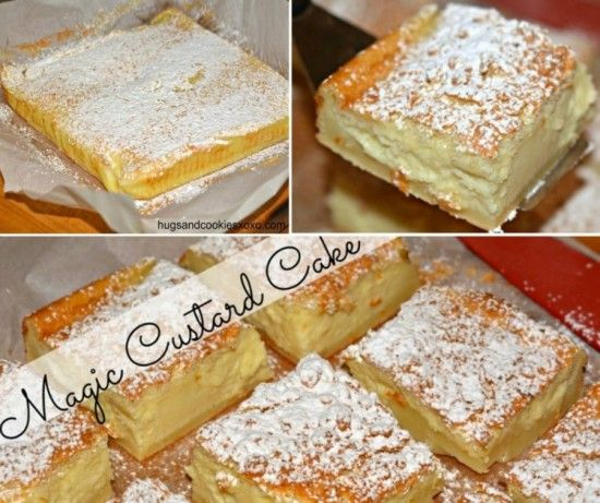 You won't be able to wait to make this Magic Custard Cake and it will be a huge hit in your house.