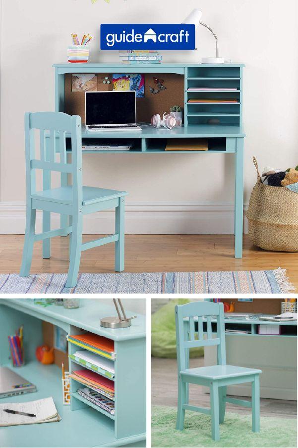 Desks Guidecraft Stem Toys And Furniture In 2020 Desk And Chair Set Kids Desk Organization Diy Kids Desk