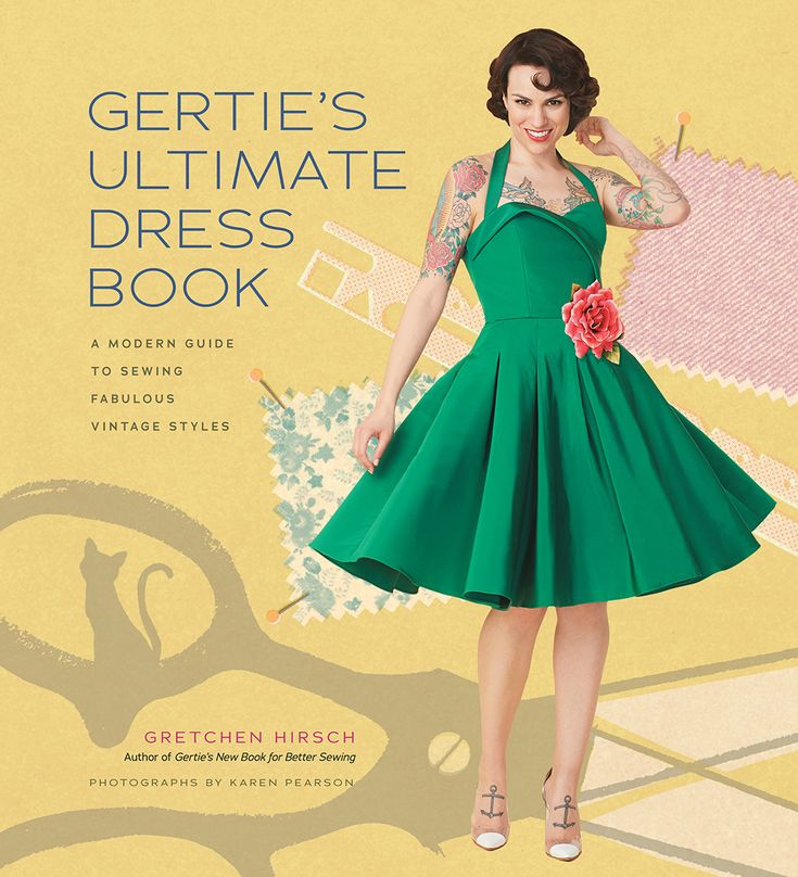 Review + giveaway: Gertie's Ultimate Dress Book (and a peek at the dress I made from the book)