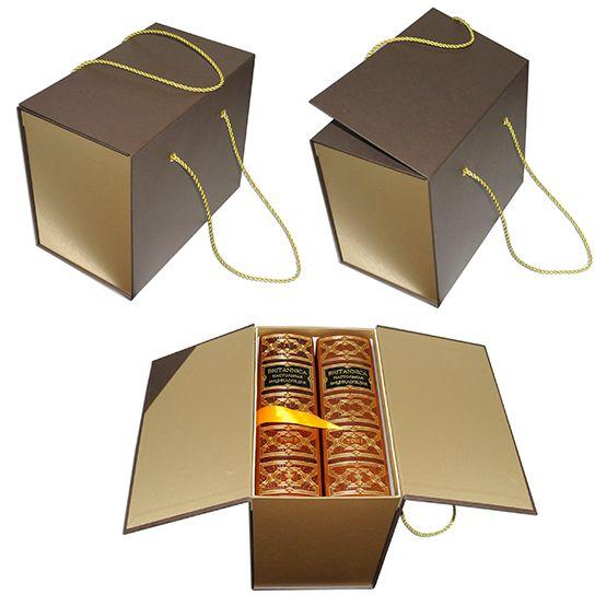 Коробка с откидными створками под серию книг