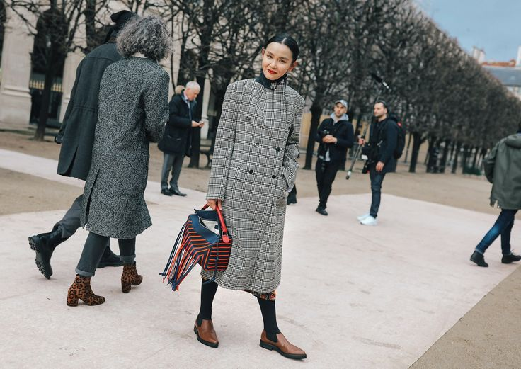 Phil Oh's Best Street Style Photos From the Paris Fall 2018 Menswear Shows