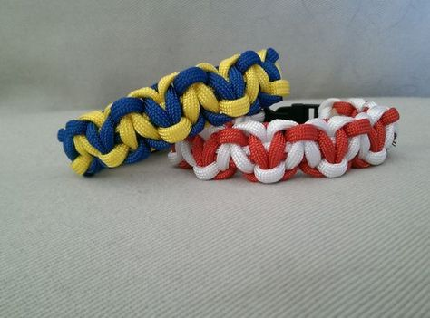 Hearts Paracord Bracelet #weave #jewelry