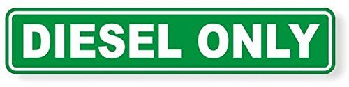 """1 Pcs Overwhelming Unique Diesel Only Window Sticker Sign Mac Macbook Laptop Luggage Wall Graphics Helmet Safety Decor Vinyl Art Stickers Decal Patches Size 1-1/4""""x6-1/4"""" Color Green-White #Overwhelming #Unique #Diesel #Only #Window #Sticker #Sign #Macbook #Laptop #Luggage #Wall #Graphics #Helmet #Safety #Decor #Vinyl #Stickers #Decal #Patches #Size #Color #Green #White"""