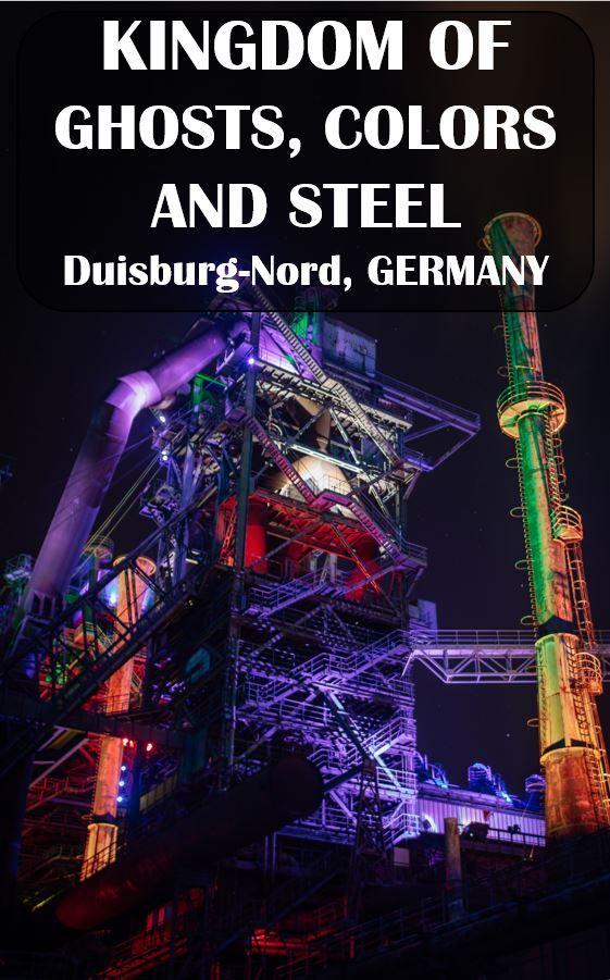 The best light installation seen so far. Duisburg-Nord, Germany #Germany #deutschland #duisburg #nrw