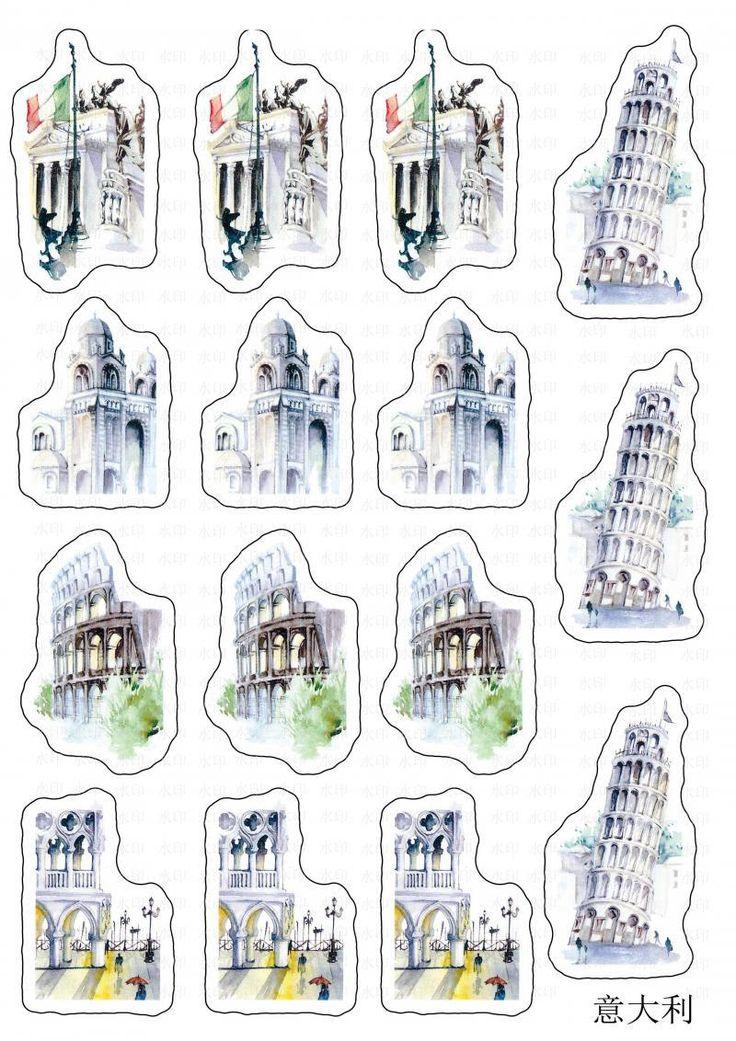 Viajando o Mundo Edifícios Históricos Da Cidade Scenic spots Pintado À Mão Pad Memo Auto Adesivo Pegajoso Post It Pad Secretaria Da Escola em Papelaria Adesivo de Office & School Suprimentos no AliExpress.com   Alibaba Group