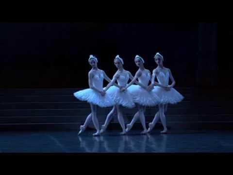 Dorothée Gilbert Myriam Ould-Braham Swan Lake Little Swans - Paris Opera Ballet.
