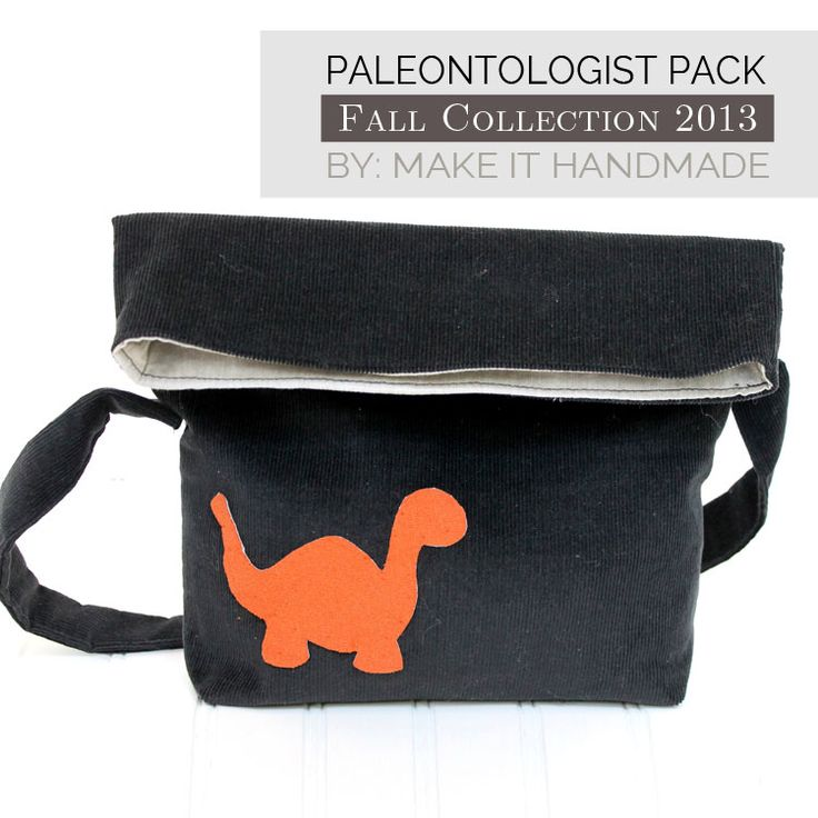 Paleontologist Pack Tutorial - Sewing DIY - Make it Handmade - #SewingRabbitFallCollection
