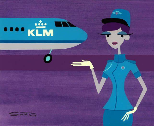 Flight 42 to Amsterdam Now Boarding - Shag